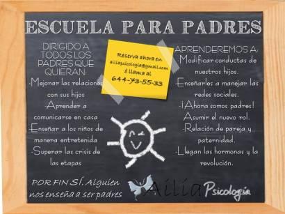 Ailia cartel escuela para padres